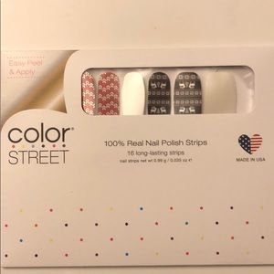 Color Street Fleece On Earth NWT retired